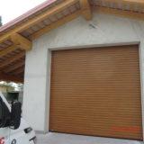 Serranda garage avvolgibile vista esterna