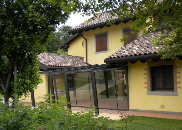 Wintergarten con vetri accostati - 2