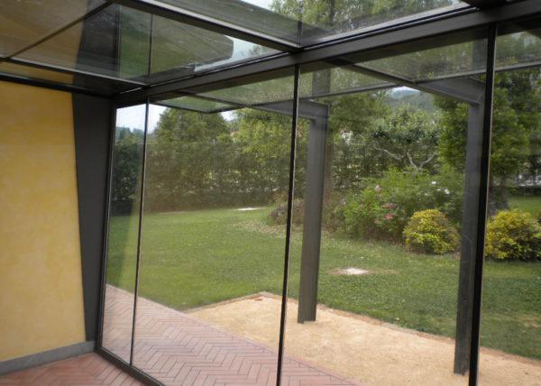 Wintergarten con vetri accostati - 3