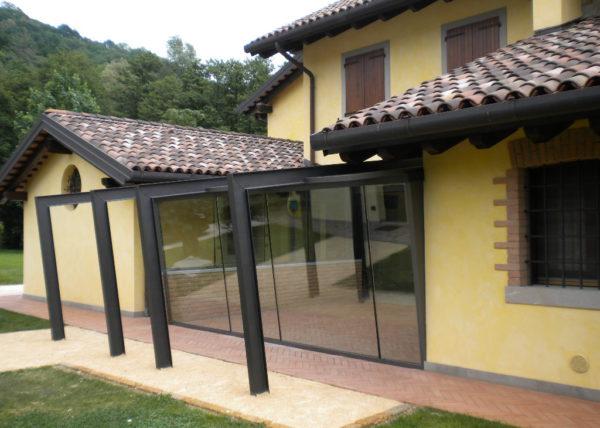 Wintergarten con vetri accostati - 6