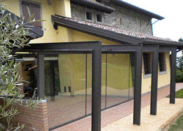 Wintergarten con vetri accostati - 7